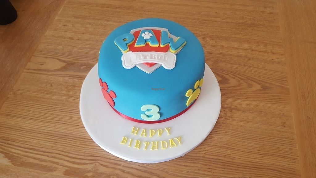 """Photo of Miam Vegan Bakery  by <a href=""""/members/profile/Whazy88"""">Whazy88</a> <br/>paw patrol 3rd birthday cake <br/> June 3, 2017  - <a href='/contact/abuse/image/93307/265309'>Report</a>"""