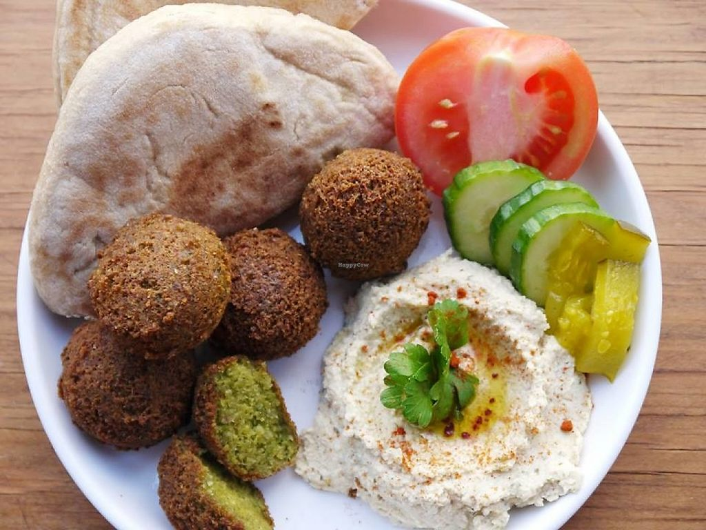"Photo of CLOSED: Ksara Restaurant  by <a href=""/members/profile/community5"">community5</a> <br/>Falafel and hummus <br/> June 4, 2017  - <a href='/contact/abuse/image/93323/265772'>Report</a>"