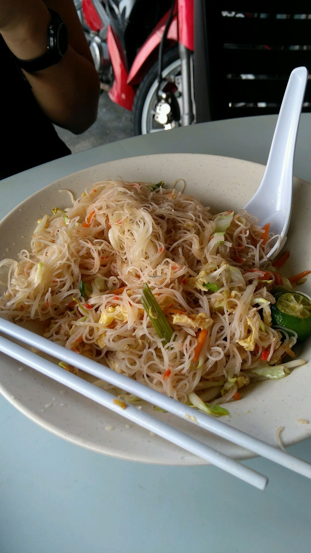 """Photo of Chow's Family Vegetarian Restaurant  by <a href=""""/members/profile/mixo7978"""">mixo7978</a> <br/>Sin Chow Fried Noodles <br/> February 4, 2018  - <a href='/contact/abuse/image/9332/354648'>Report</a>"""