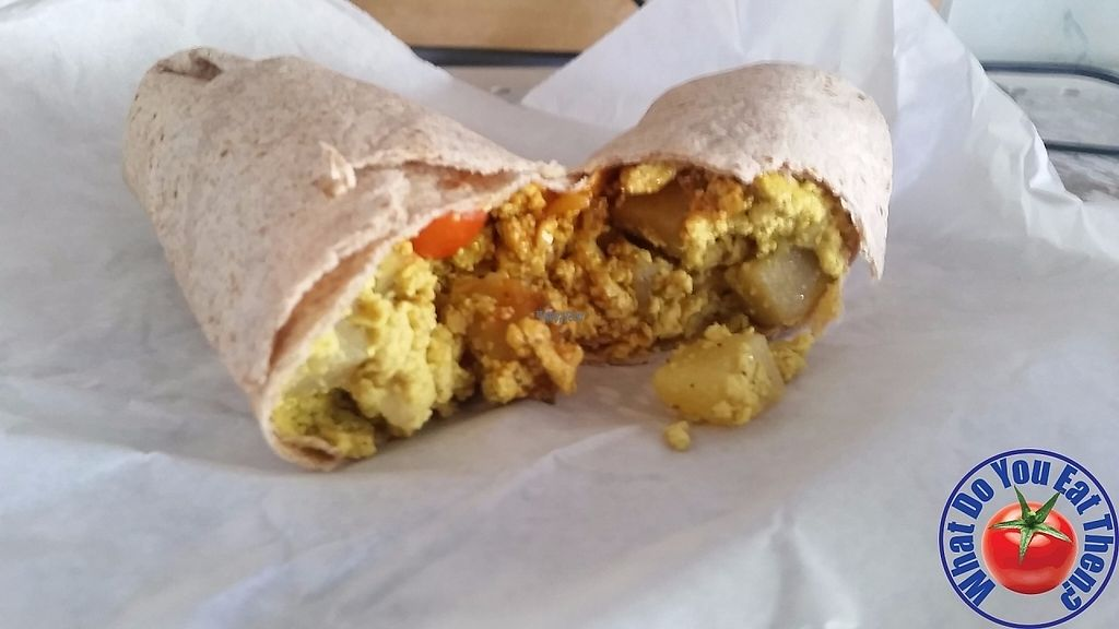 "Photo of Desert Roots Kitchen  by <a href=""/members/profile/WhatDoYouEatThen"">WhatDoYouEatThen</a> <br/>Breakfast Burrito from Desert Roots Kitchen