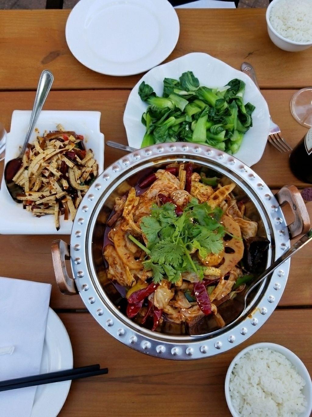 "Photo of Chef Tan  by <a href=""/members/profile/tikhonova87"">tikhonova87</a> <br/>Bok Choy, Veggy hot pot, bean curd <br/> June 3, 2017  - <a href='/contact/abuse/image/93346/265426'>Report</a>"