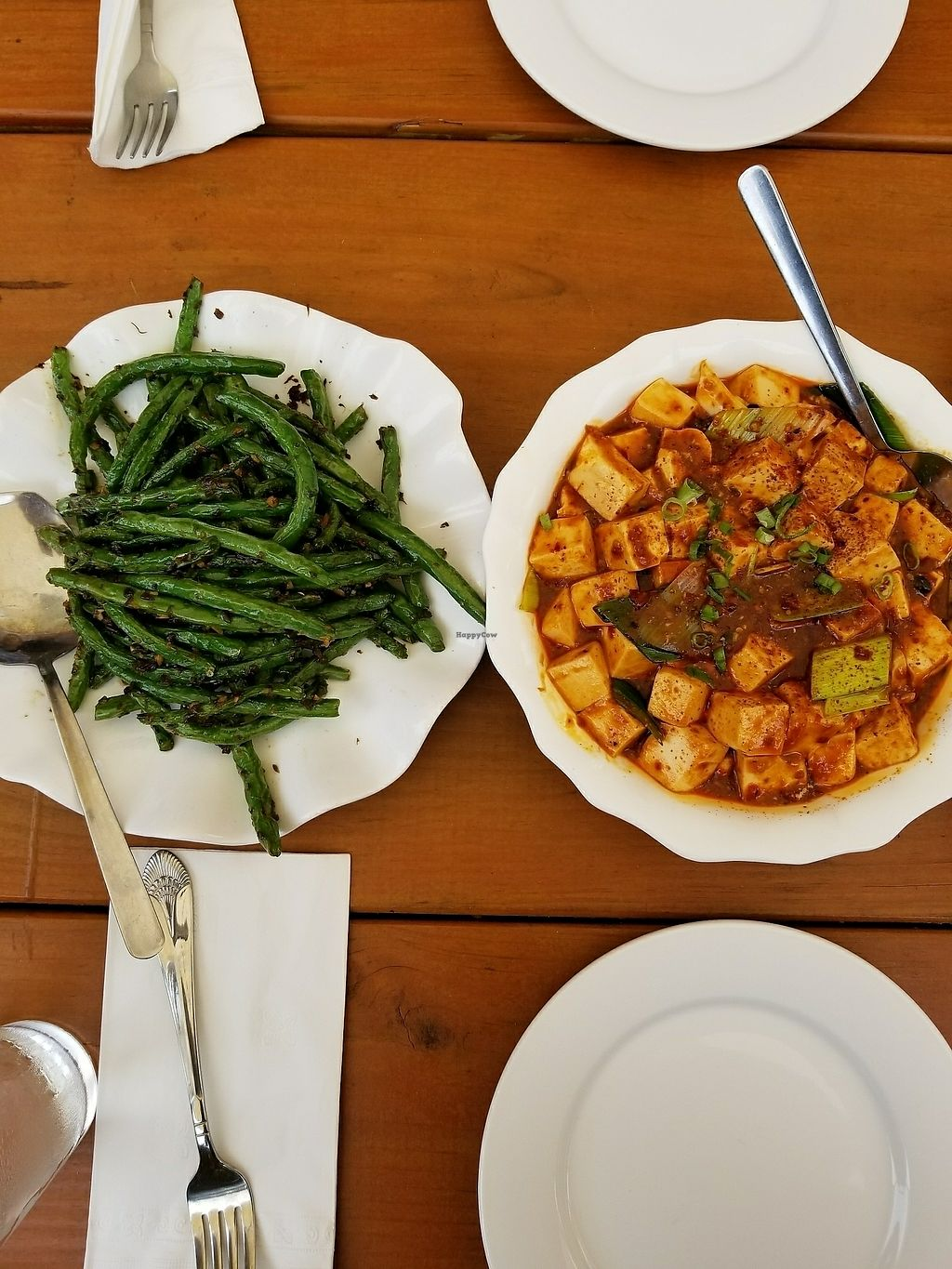 """Photo of Chef Tan  by <a href=""""/members/profile/tikhonova87"""">tikhonova87</a> <br/>napa tofu and beans from vegetarian section <br/> July 28, 2017  - <a href='/contact/abuse/image/93346/285960'>Report</a>"""