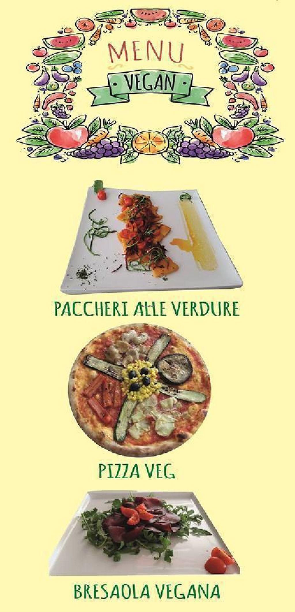 "Photo of Ristorante Pizzeria Morena  by <a href=""/members/profile/community5"">community5</a> <br/>Vegan menu <br/> June 5, 2017  - <a href='/contact/abuse/image/93360/266035'>Report</a>"