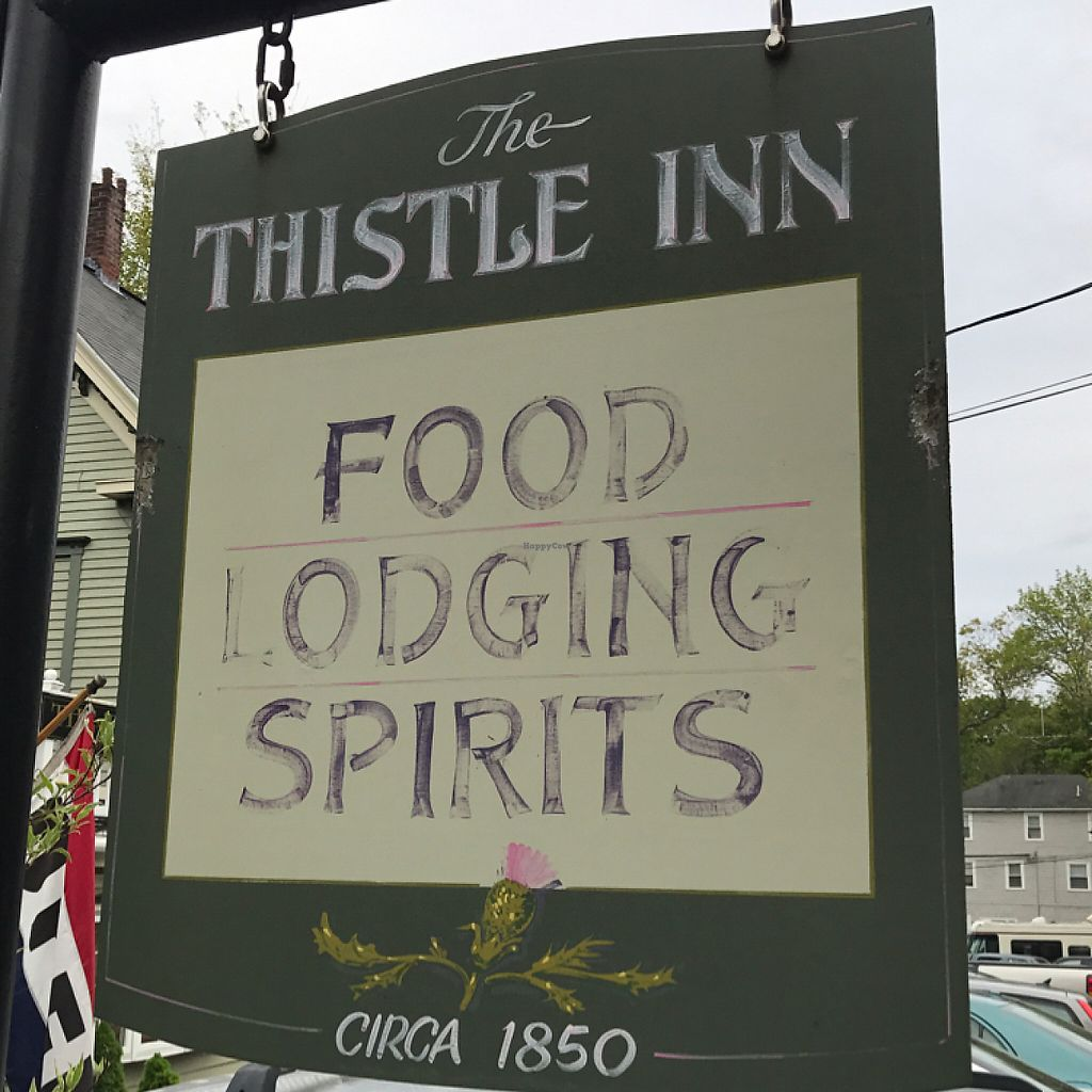 """Photo of The Thistle Inn  by <a href=""""/members/profile/Sarah%20P"""">Sarah P</a> <br/>sign <br/> June 5, 2017  - <a href='/contact/abuse/image/93395/265993'>Report</a>"""