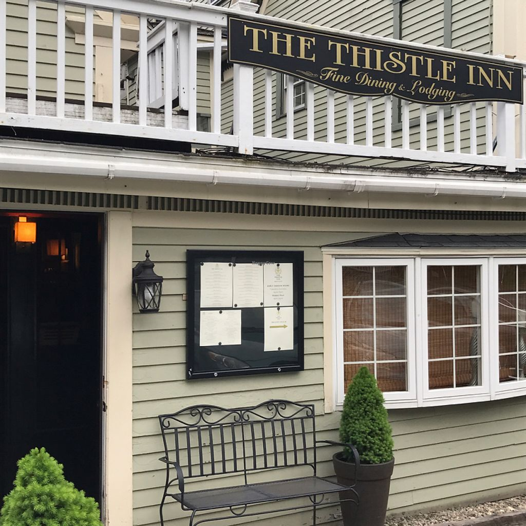 """Photo of The Thistle Inn  by <a href=""""/members/profile/Sarah%20P"""">Sarah P</a> <br/>entrance <br/> June 5, 2017  - <a href='/contact/abuse/image/93395/265995'>Report</a>"""