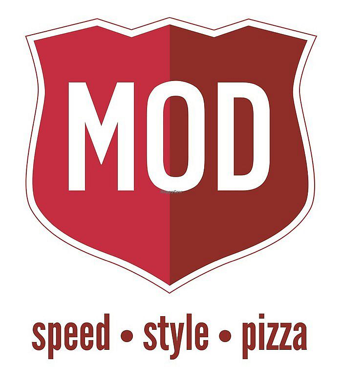 """Photo of Mod Pizza  by <a href=""""/members/profile/veggierach"""">veggierach</a> <br/>logo <br/> July 7, 2017  - <a href='/contact/abuse/image/93419/277445'>Report</a>"""