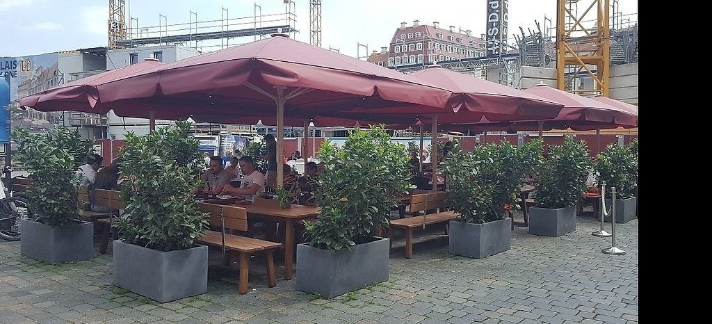"""Photo of Vapiano  by <a href=""""/members/profile/mohare22"""">mohare22</a> <br/>outdoor eating area in the square <br/> June 8, 2017  - <a href='/contact/abuse/image/93426/266883'>Report</a>"""