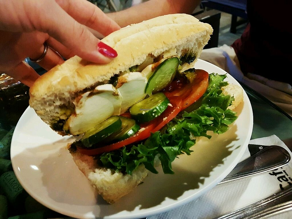 """Photo of Cafe 8.98  by <a href=""""/members/profile/SophieHevin"""">SophieHevin</a> <br/>sandwich végétarien <br/> January 11, 2018  - <a href='/contact/abuse/image/93463/345345'>Report</a>"""