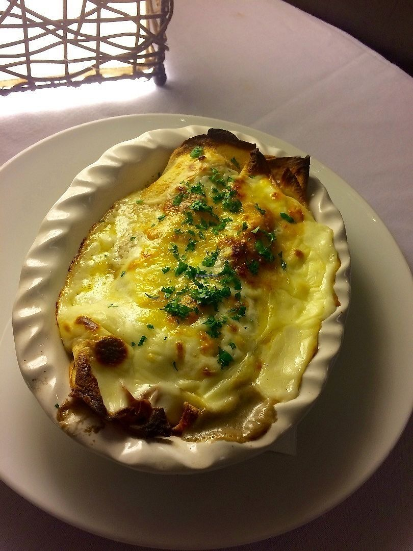 """Photo of The Grey Duckling  by <a href=""""/members/profile/Lorel"""">Lorel</a> <br/>Mushroom Crepe Au Gratin <br/> June 13, 2017  - <a href='/contact/abuse/image/93471/268538'>Report</a>"""