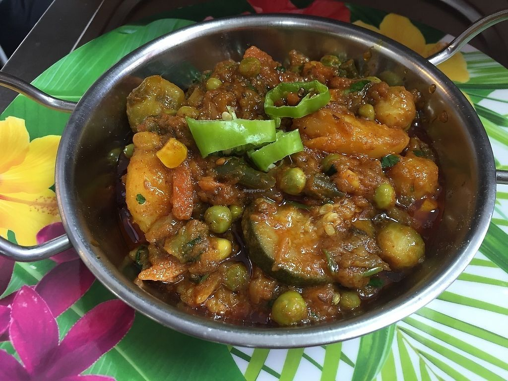 """Photo of Little Aladdin  by <a href=""""/members/profile/Hina"""">Hina</a> <br/>Superbly delicious aloo bengan (oberjeen and potato)  <br/> June 17, 2017  - <a href='/contact/abuse/image/93477/270023'>Report</a>"""