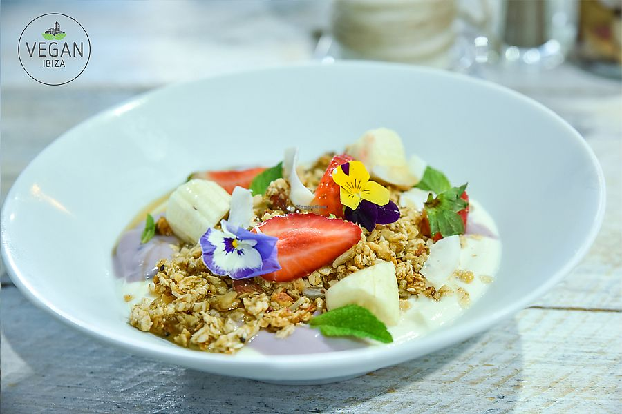 """Photo of Vegan Ibiza  by <a href=""""/members/profile/Vegan_ibiza"""">Vegan_ibiza</a> <br/>Yogurt with granola and seasonal fruit <br/> June 8, 2017  - <a href='/contact/abuse/image/93478/266926'>Report</a>"""