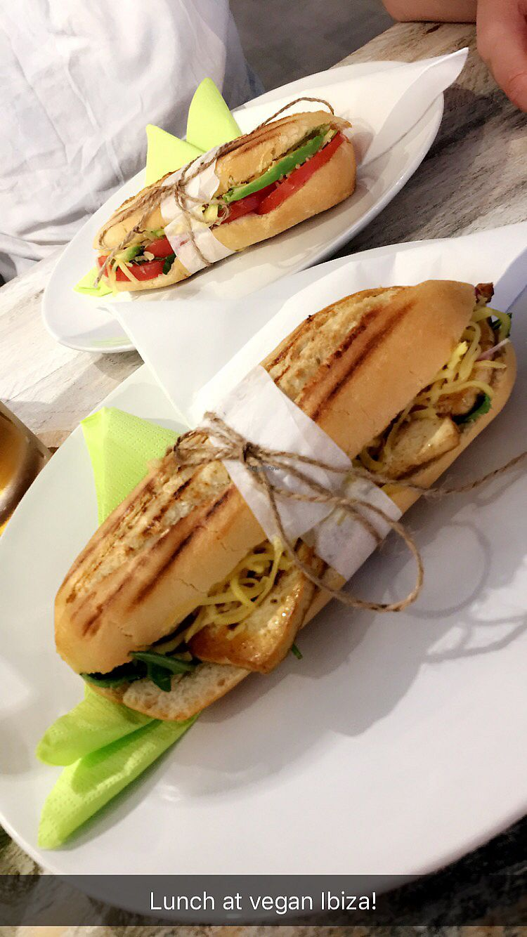 """Photo of Vegan Ibiza  by <a href=""""/members/profile/liarna"""">liarna</a> <br/>tofu panini <br/> July 17, 2017  - <a href='/contact/abuse/image/93478/281558'>Report</a>"""