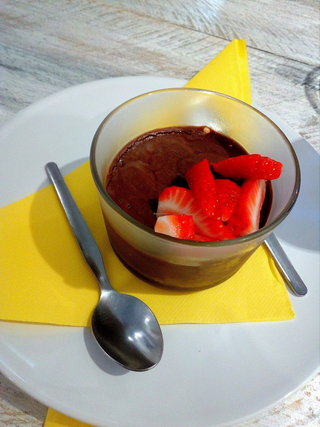 """Photo of Vegan Ibiza  by <a href=""""/members/profile/wyrd"""">wyrd</a> <br/>Chocolate mousse <br/> August 24, 2017  - <a href='/contact/abuse/image/93478/296835'>Report</a>"""