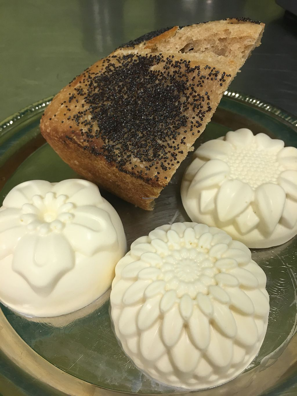 """Photo of Radha Govinda's Buffet  by <a href=""""/members/profile/LengleJungle"""">LengleJungle</a> <br/>small batches cultured coconut butter served daily with our fresh sour dough bread and fresh rolls <br/> July 17, 2017  - <a href='/contact/abuse/image/93526/281519'>Report</a>"""
