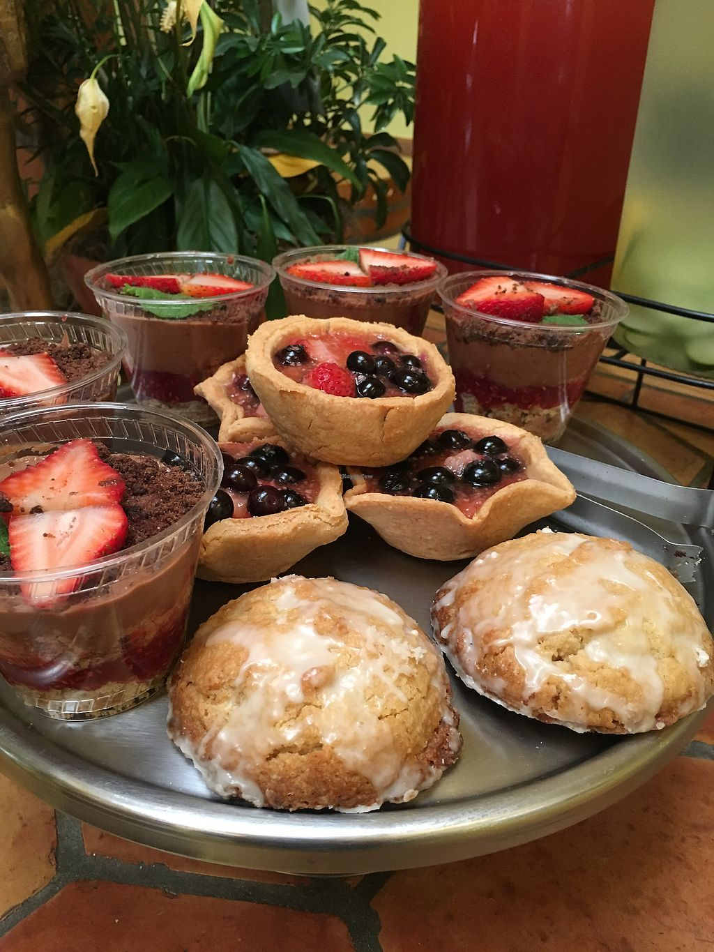 """Photo of Radha Govinda's Buffet  by <a href=""""/members/profile/LengleJungle"""">LengleJungle</a> <br/>gluten free desserts that change daily, mini pies, pudding cups , cookies and cakes  <br/> July 17, 2017  - <a href='/contact/abuse/image/93526/281520'>Report</a>"""