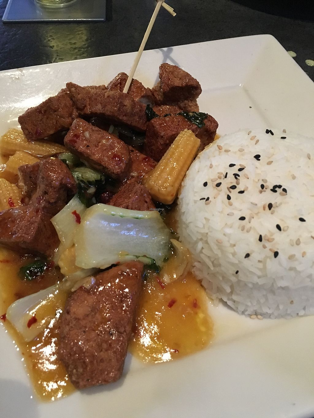 """Photo of Yard House  by <a href=""""/members/profile/JillFulbrightGray"""">JillFulbrightGray</a> <br/>Awesome orange chicken! <br/> February 27, 2018  - <a href='/contact/abuse/image/93566/364395'>Report</a>"""
