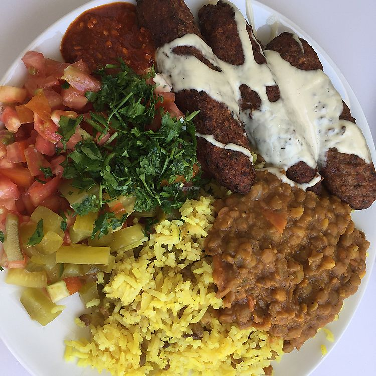 """Photo of Tamar's Vegan Food  by <a href=""""/members/profile/Eyal87"""">Eyal87</a> <br/>Kabab <br/> June 11, 2017  - <a href='/contact/abuse/image/93611/268037'>Report</a>"""