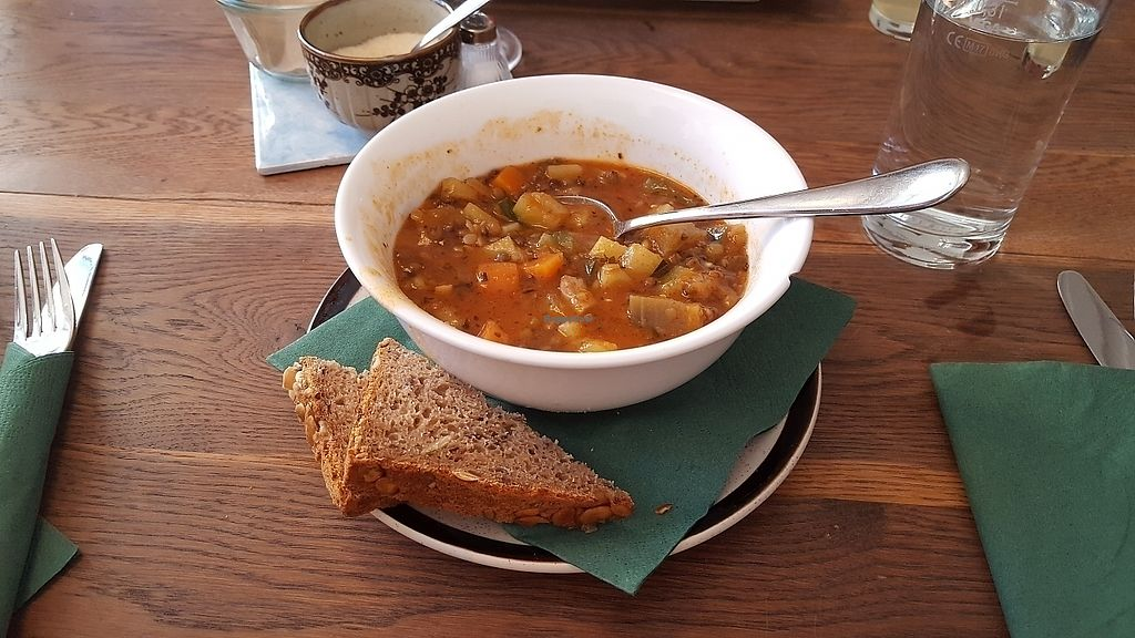 """Photo of Dreizehn in der Muehle  by <a href=""""/members/profile/mohare22"""">mohare22</a> <br/>lentil soup <br/> June 8, 2017  - <a href='/contact/abuse/image/93613/267137'>Report</a>"""