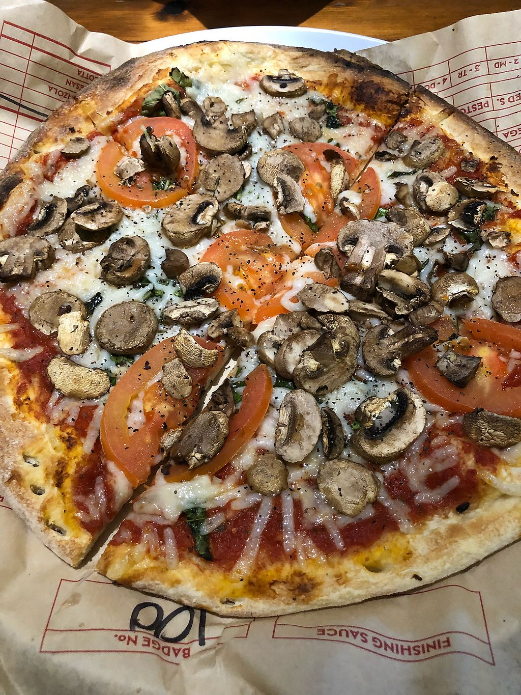 "Photo of Mod Pizza  by <a href=""/members/profile/CherieKain"">CherieKain</a> <br/>One price, whatever toppings and they have dairy free cheese! <br/> March 15, 2018  - <a href='/contact/abuse/image/93638/370815'>Report</a>"