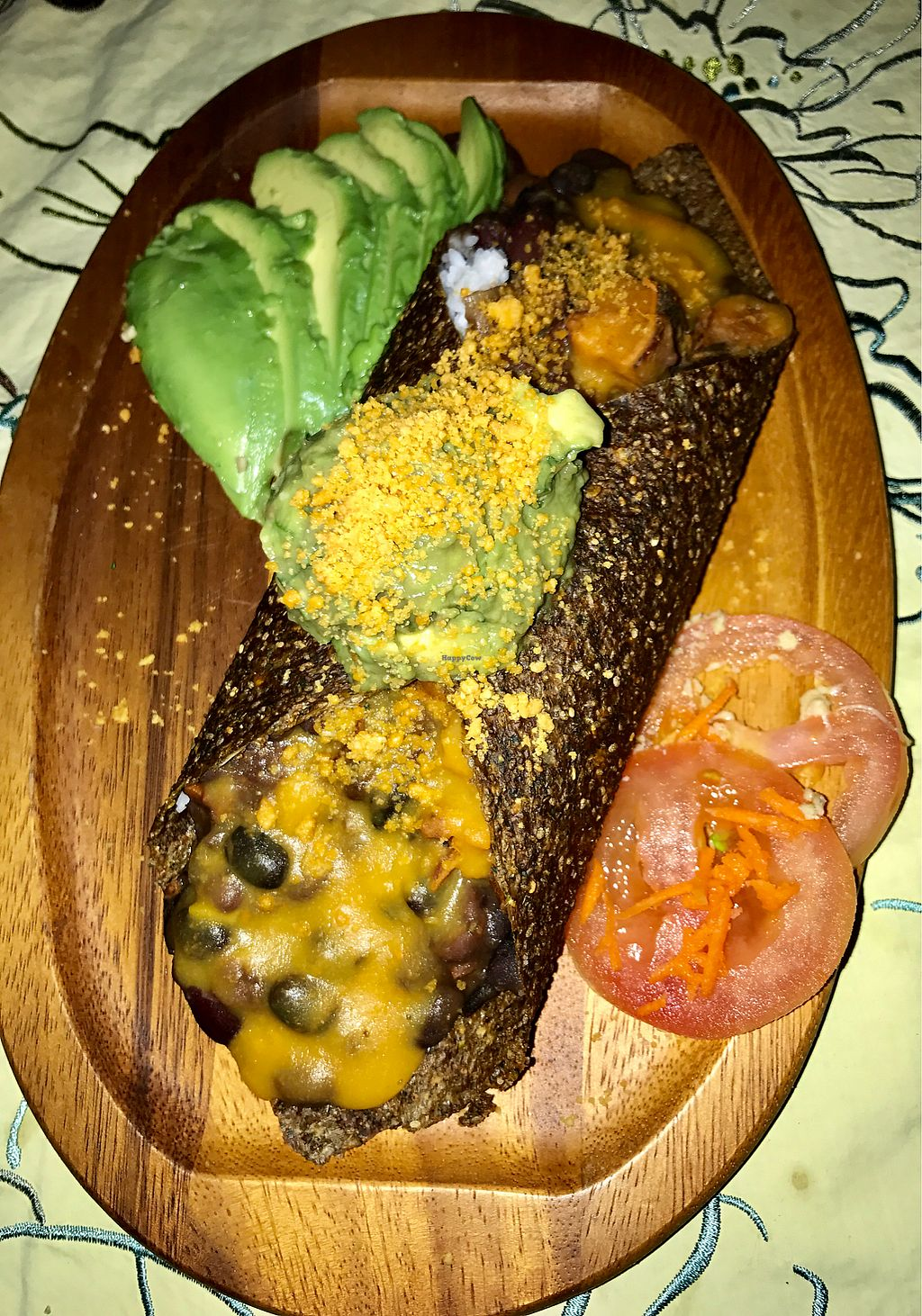 Photo of ChocolaTree Organic Oasis  by _Dharma <br/>Vegan enchiladas with cashew cheese <br/> November 17, 2017  - <a href='/contact/abuse/image/9364/326310'>Report</a>