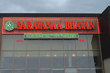 "Photo of Saravanaa Bhavan  by <a href=""/members/profile/nadiastan"">nadiastan</a> <br/>Outside front <br/> December 28, 2017  - <a href='/contact/abuse/image/93663/340153'>Report</a>"