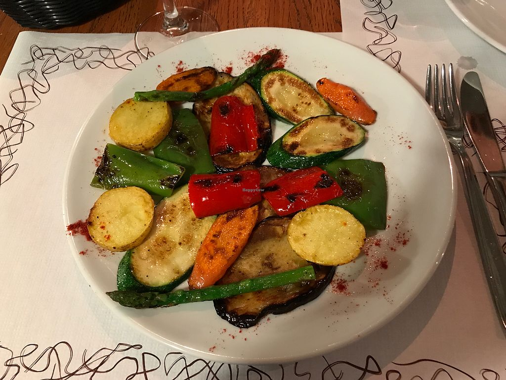 "Photo of CLOSED: La Clau  by <a href=""/members/profile/Emiii"">Emiii</a> <br/>Vegetables on plancha 8,90€ <br/> September 9, 2017  - <a href='/contact/abuse/image/93679/302490'>Report</a>"