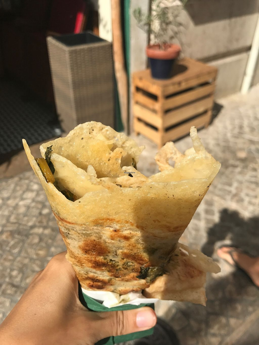 """Photo of Sama Sama - Crepe and Juice Bar  by <a href=""""/members/profile/TineH"""">TineH</a> <br/>Yummy Mick Crepe <br/> September 25, 2017  - <a href='/contact/abuse/image/93689/308473'>Report</a>"""