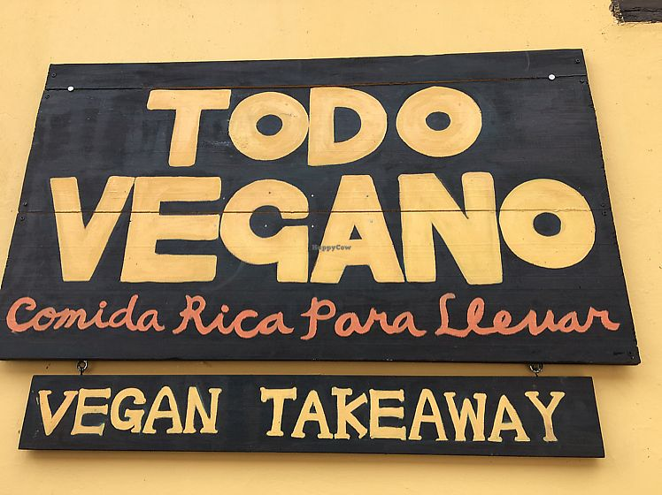 """Photo of Todo Vegano  by <a href=""""/members/profile/Soyalison"""">Soyalison</a> <br/>Comida Rica Para Llevar <br/> June 12, 2017  - <a href='/contact/abuse/image/93695/268453'>Report</a>"""