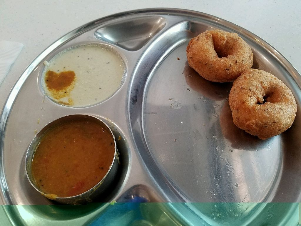 """Photo of Saravanaa Bhavan  by <a href=""""/members/profile/chulaww"""">chulaww</a> <br/>vada <br/> February 18, 2018  - <a href='/contact/abuse/image/93727/360722'>Report</a>"""