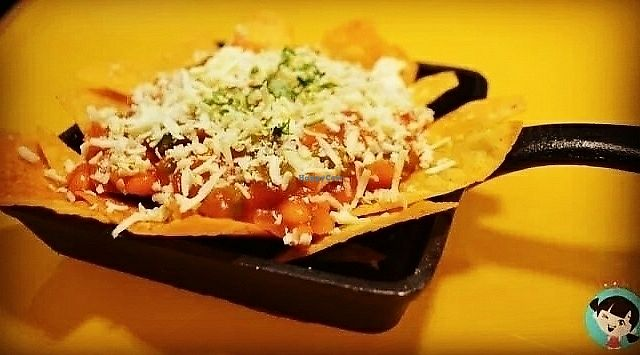 """Photo of The Laughter Chapter Cafe  by <a href=""""/members/profile/PratikKataria"""">PratikKataria</a> <br/>BBQ Nachos <br/> June 12, 2017  - <a href='/contact/abuse/image/93774/268336'>Report</a>"""