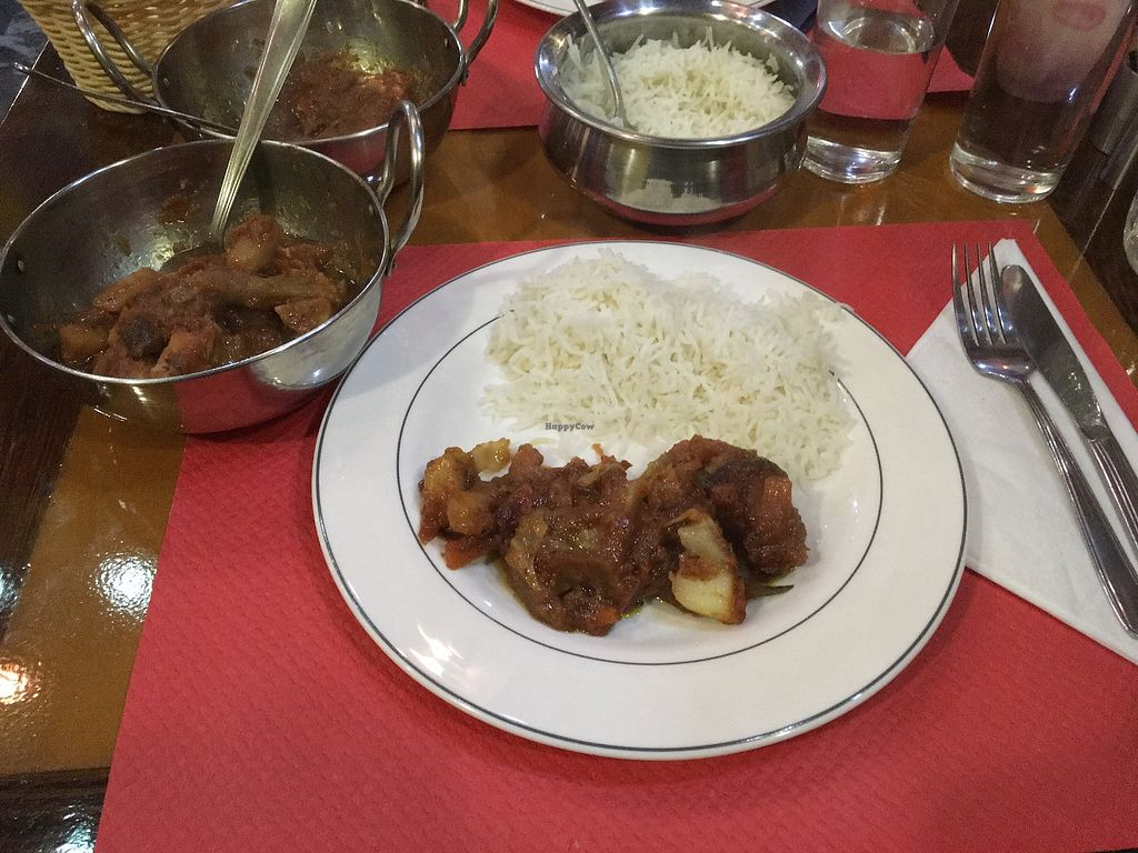 """Photo of Curry Park  by <a href=""""/members/profile/Alina%26Deian"""">Alina&Deian</a> <br/>Vegan tikka masala with plain rice <br/> February 16, 2018  - <a href='/contact/abuse/image/93778/360036'>Report</a>"""