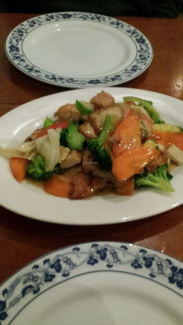 """Photo of The Sun Thai Restaurant  by <a href=""""/members/profile/Purejoy58"""">Purejoy58</a> <br/>Lemon Grass Stir Fry  <br/> July 9, 2017  - <a href='/contact/abuse/image/93787/278122'>Report</a>"""