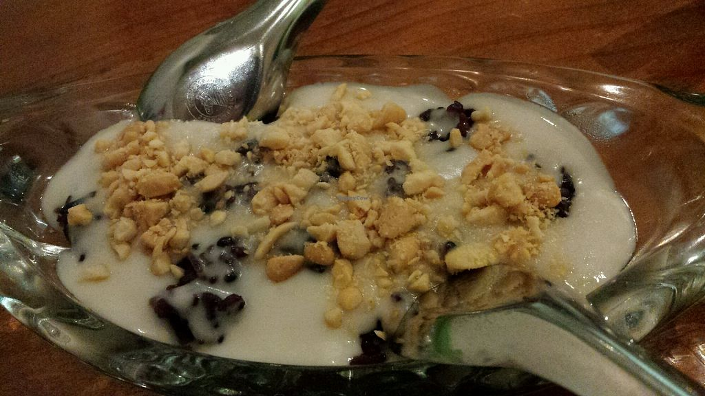 """Photo of The Sun Thai Restaurant  by <a href=""""/members/profile/Purejoy58"""">Purejoy58</a> <br/>Red Bean and Coconut sauce dessert ? <br/> July 9, 2017  - <a href='/contact/abuse/image/93787/278124'>Report</a>"""