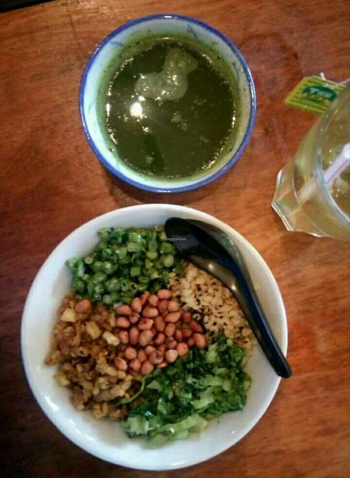 Photo of Fig Tree Cafe  by oiabu <br/>Lei cha (ask for vegan for no shrimp) <br/> June 14, 2017  - <a href='/contact/abuse/image/93803/268988'>Report</a>