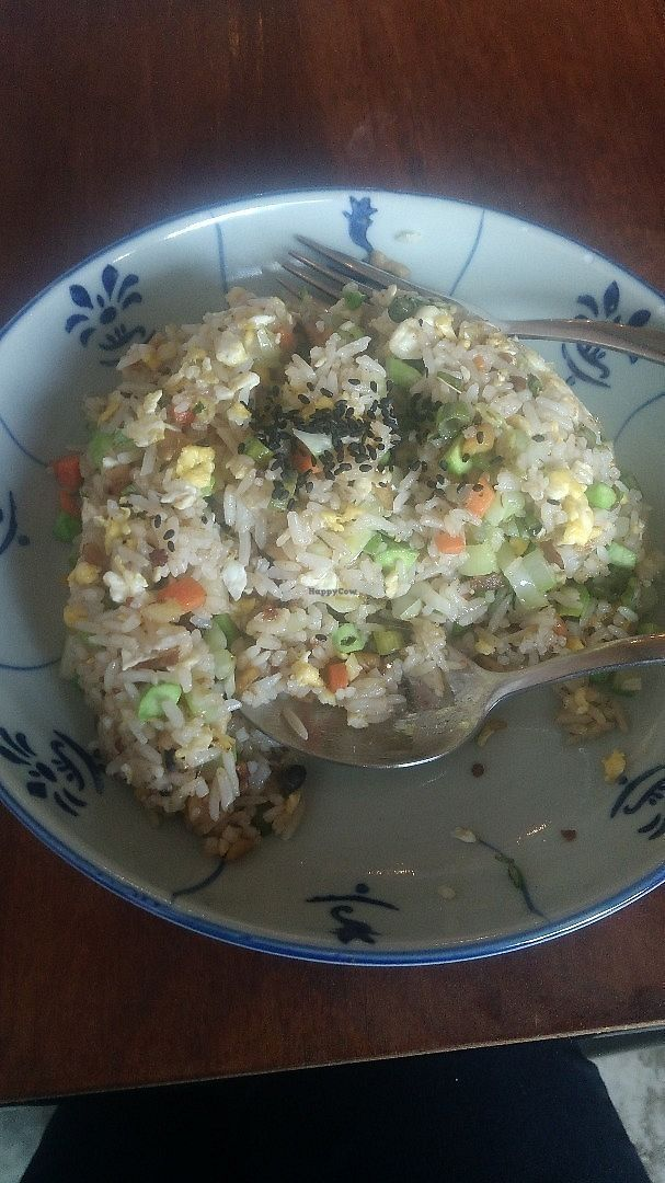 Photo of Fig Tree Cafe  by oiabu <br/>Sambal Petai Fried Rice (ask for vegan for no egg) <br/> June 14, 2017  - <a href='/contact/abuse/image/93803/268989'>Report</a>