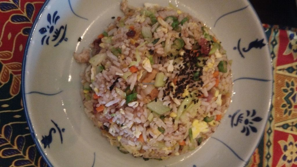 Photo of Fig Tree Cafe  by oiabu <br/>Dabai fried rice (ask for vegan for no egg) <br/> June 14, 2017  - <a href='/contact/abuse/image/93803/268990'>Report</a>
