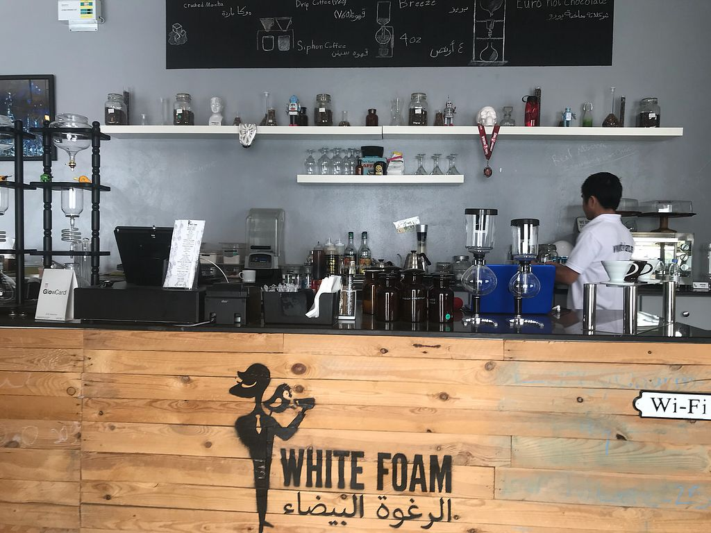 "Photo of White Foam Cafe  by <a href=""/members/profile/Yan%E2%93%A5"">Yanⓥ</a> <br/>Very delicious cake. ? I would definitely come back <br/> February 16, 2018  - <a href='/contact/abuse/image/93833/360069'>Report</a>"