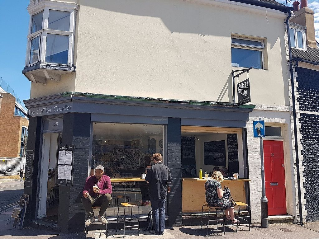 """Photo of The Coffee Counter  by <a href=""""/members/profile/CuriousDave"""">CuriousDave</a> <br/>Outside seating <br/> June 12, 2017  - <a href='/contact/abuse/image/93841/268352'>Report</a>"""