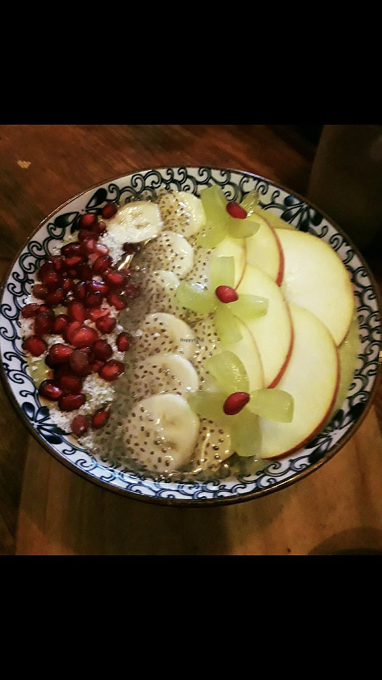 """Photo of The Juicery Cafe  by <a href=""""/members/profile/BeatriceTataTse"""">BeatriceTataTse</a> <br/>Yummy açai bowl  <br/> March 5, 2018  - <a href='/contact/abuse/image/93853/367042'>Report</a>"""