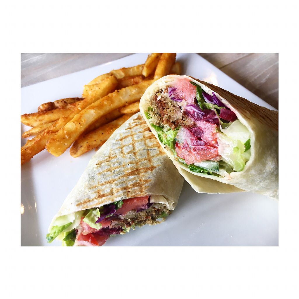 """Photo of Simply Green Cafe  by <a href=""""/members/profile/LexaCastro"""">LexaCastro</a> <br/>Mediterranean wrap <br/> December 3, 2017  - <a href='/contact/abuse/image/93872/332000'>Report</a>"""