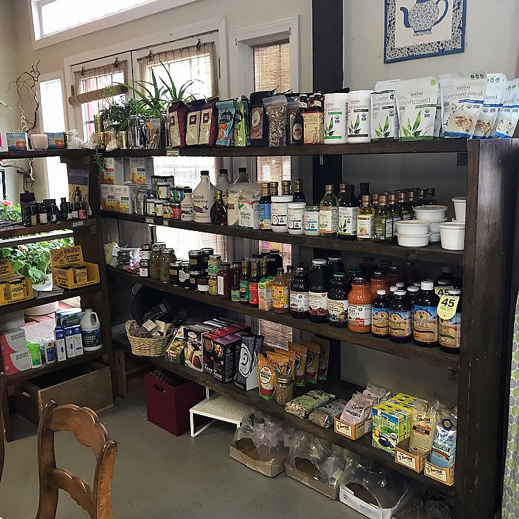 """Photo of Merry Auld Market & Tea  by <a href=""""/members/profile/Sarah%20P"""">Sarah P</a> <br/>natural grocery <br/> June 11, 2017  - <a href='/contact/abuse/image/93886/268232'>Report</a>"""