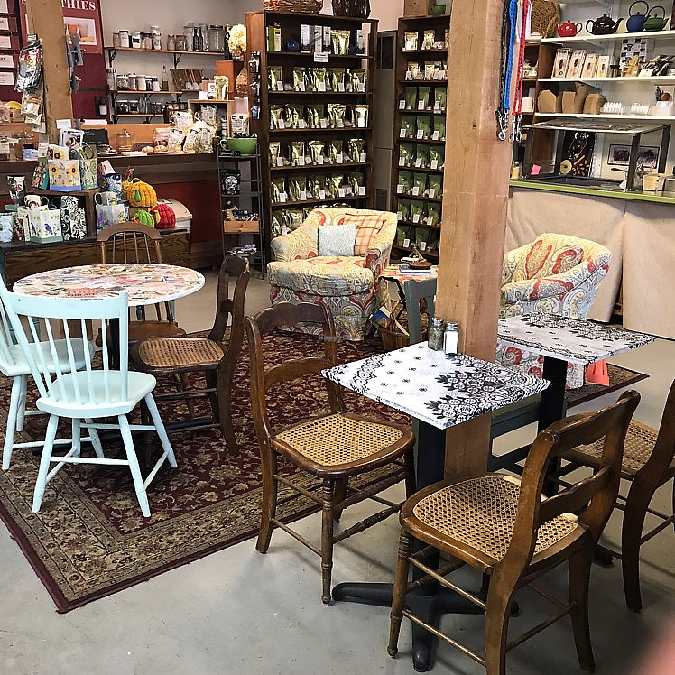 """Photo of Merry Auld Market & Tea  by <a href=""""/members/profile/Sarah%20P"""">Sarah P</a> <br/>cafe seating  <br/> June 11, 2017  - <a href='/contact/abuse/image/93886/268233'>Report</a>"""