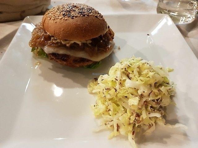 "Photo of Officina Verde - Ristorante e Bottega Vegana  by <a href=""/members/profile/jokasagu"">jokasagu</a> <br/>Burger  <br/> June 13, 2017  - <a href='/contact/abuse/image/93887/268827'>Report</a>"