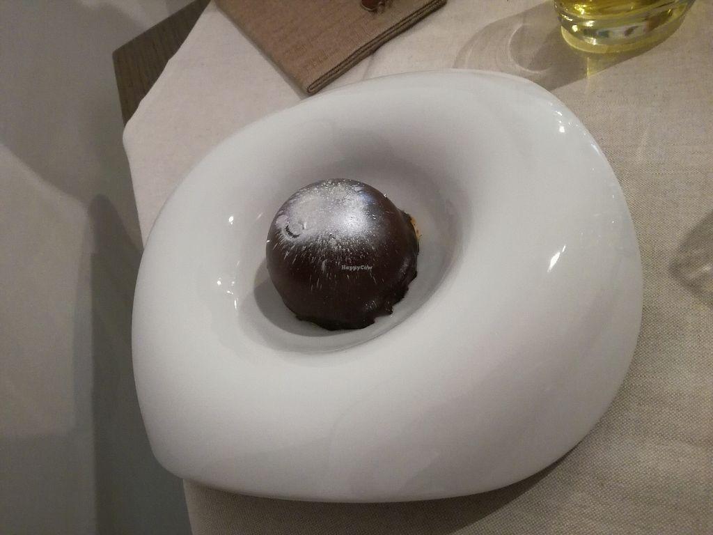 "Photo of Officina Verde - Ristorante e Bottega Vegana  by <a href=""/members/profile/Nessa"">Nessa</a> <br/>Chocolate cake with pear center <br/> September 7, 2017  - <a href='/contact/abuse/image/93887/301735'>Report</a>"