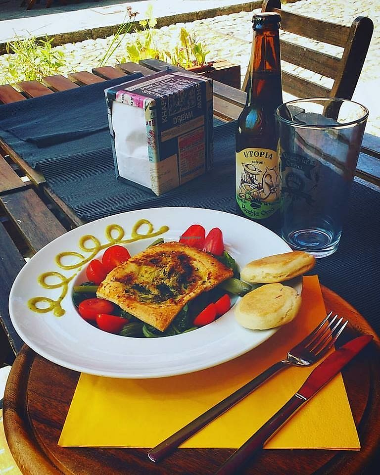 """Photo of Caffetteria dal 5 al 6  by <a href=""""/members/profile/community5"""">community5</a> <br/>Tofu cake and asparagus <br/> June 17, 2017  - <a href='/contact/abuse/image/93892/270208'>Report</a>"""