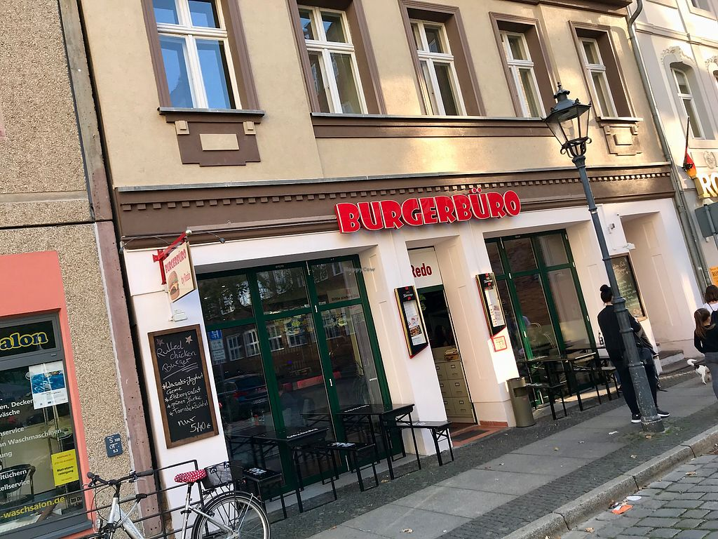 """Photo of Burgerbüro   by <a href=""""/members/profile/marky_mark"""">marky_mark</a> <br/>outside <br/> September 30, 2017  - <a href='/contact/abuse/image/93895/310139'>Report</a>"""