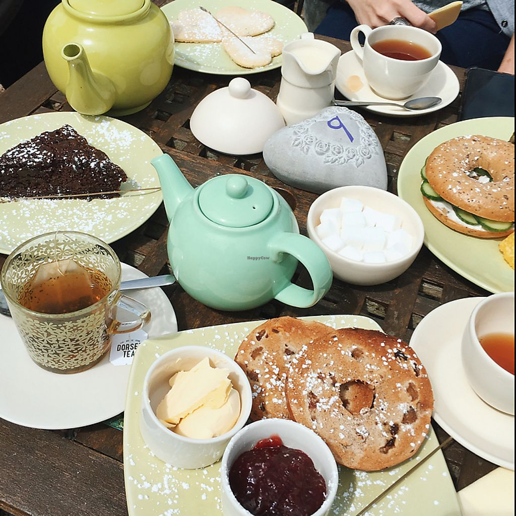 """Photo of New Forest Lavendar Tearooms  by <a href=""""/members/profile/broganlane"""">broganlane</a> <br/>Vegan Lunch <br/> June 12, 2017  - <a href='/contact/abuse/image/93904/268450'>Report</a>"""