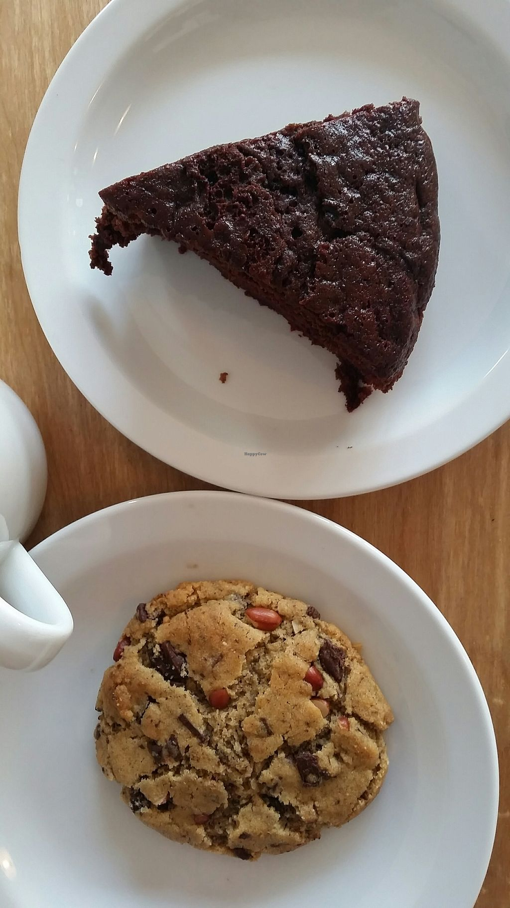 """Photo of Herbivore  by <a href=""""/members/profile/konlish"""">konlish</a> <br/>Rose/chocolate cake and peanut peanut butter chocolate chip cookie  <br/> September 17, 2017  - <a href='/contact/abuse/image/93920/305485'>Report</a>"""