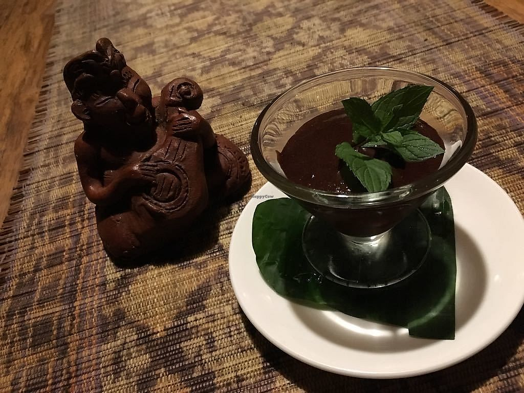 """Photo of Sarinbuana Eco Lodge Restaurant  by <a href=""""/members/profile/J_K"""">J_K</a> <br/>Chocolate mousse <br/> June 20, 2017  - <a href='/contact/abuse/image/93928/271234'>Report</a>"""