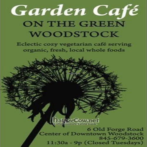 Garden Cafe of Woodstock - Woodstock New York - HappyCow